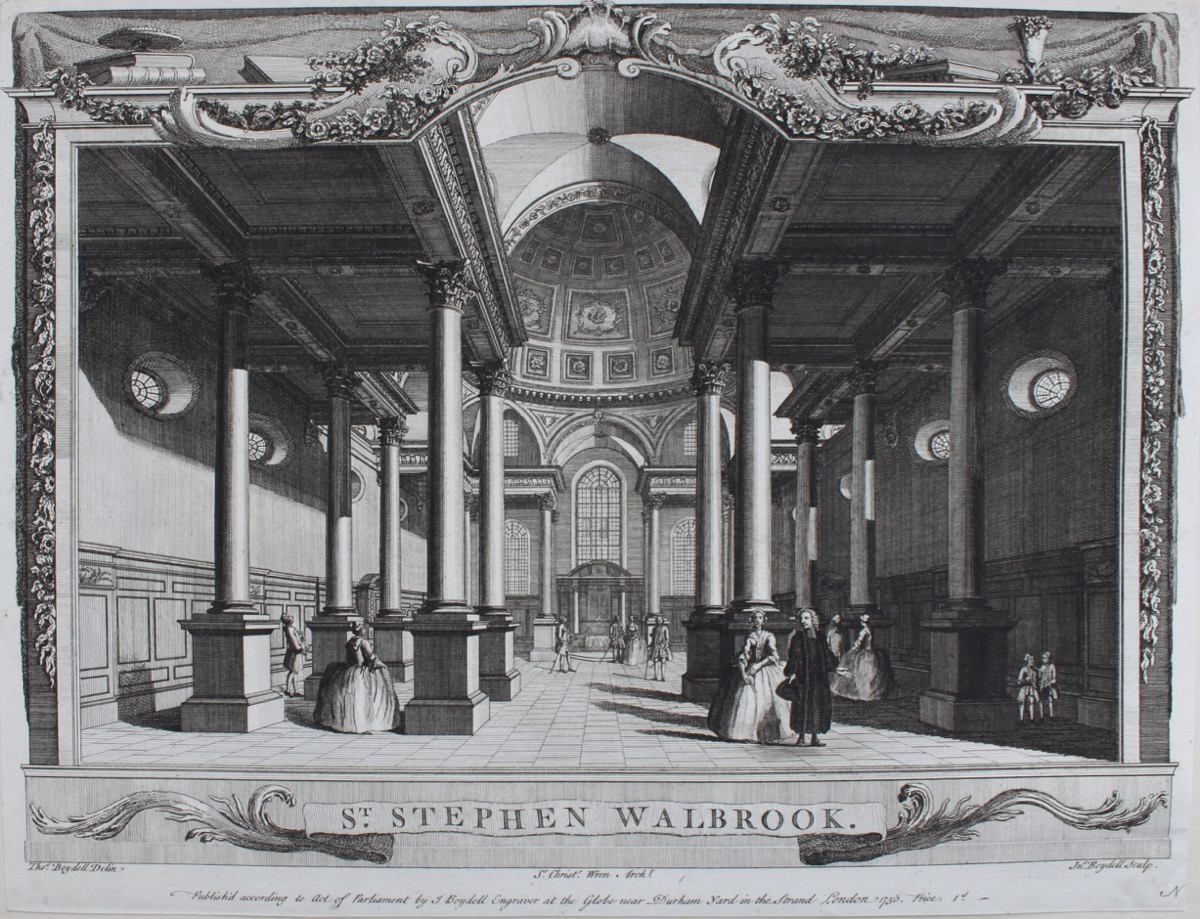 Image for St. Stephen Walbrook [Interior View].