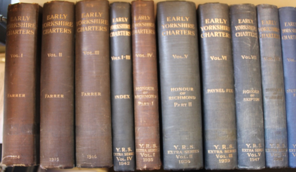 Image for Early Yorkshire Charters. Volumes 1 - 12 plus index volume to Vols 1 - 3.