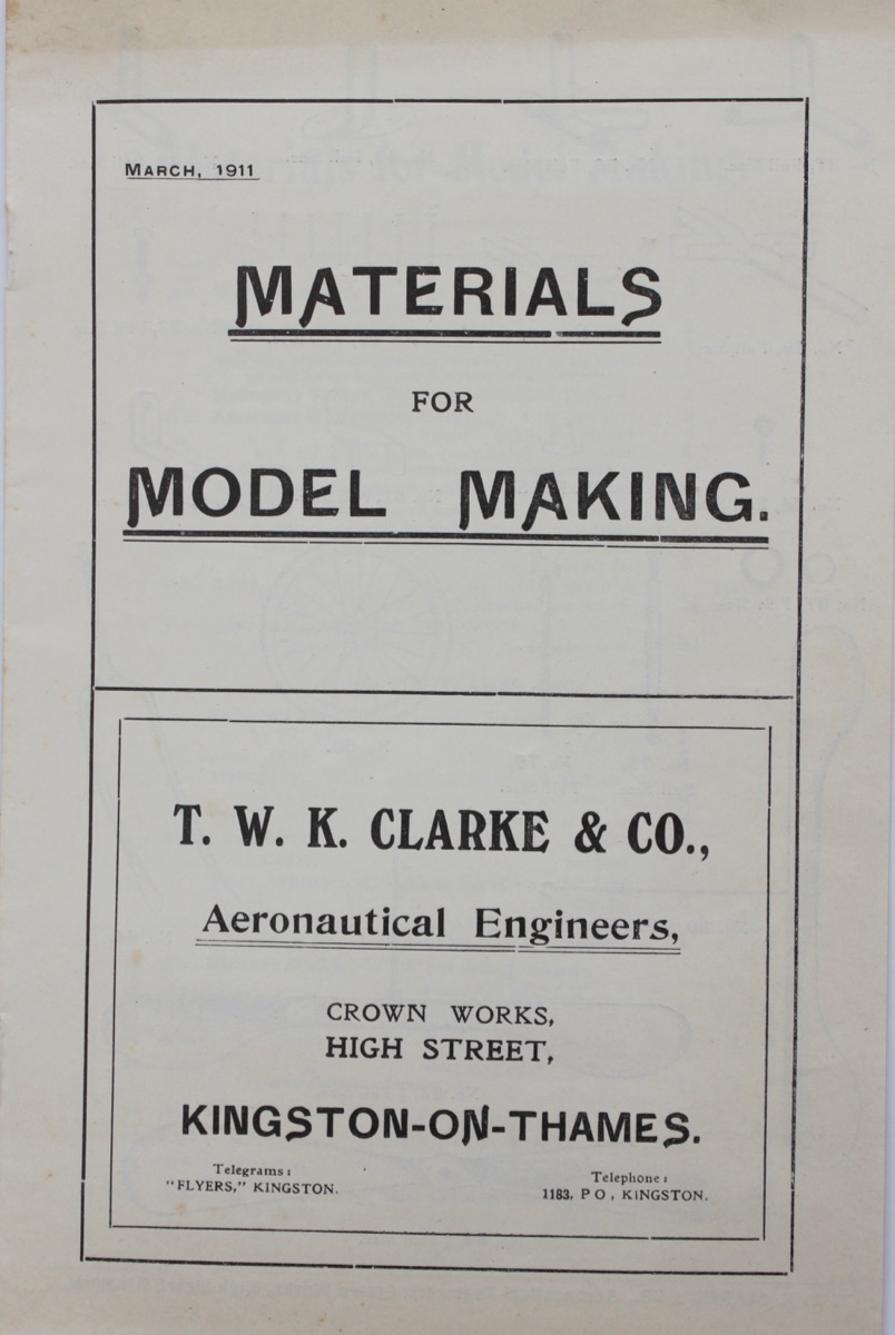 Image for Materials for Model Making.
