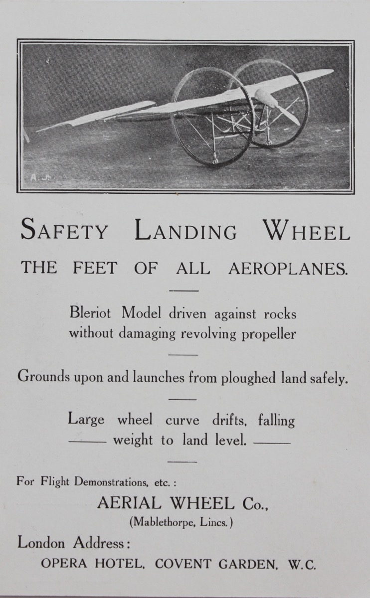 Image for Safety Landing Wheels.