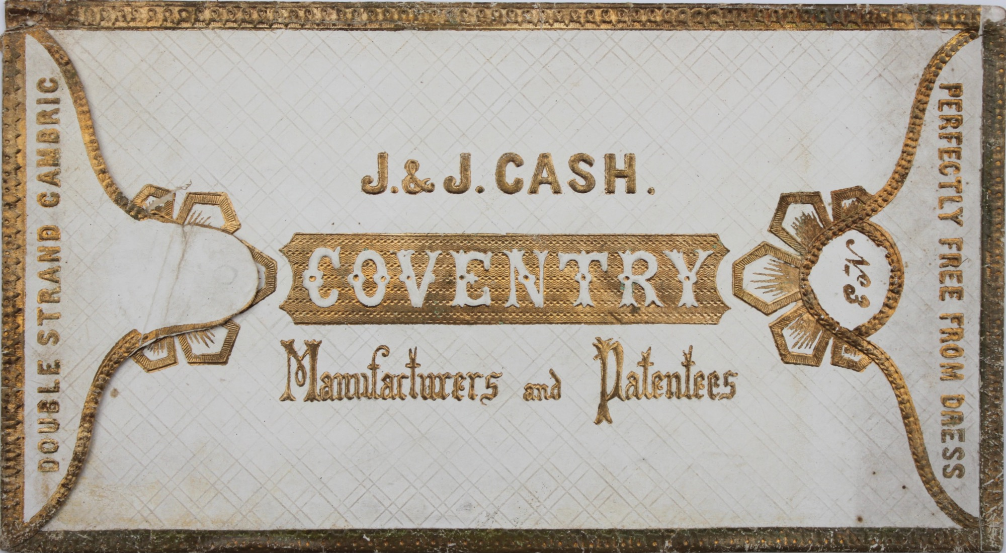 Image for J. & J. Cash, Manufacturers and Patentees.